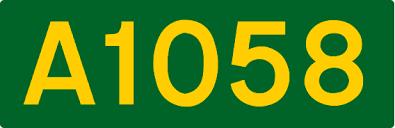 A1058 road