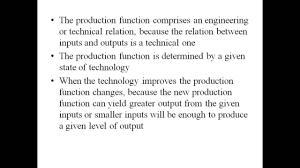 Production Function  Economics Homework Help by Classof  com   YouTube YouTube
