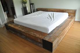 Make A Platform Bed With Storage by How To Build A Full Size Platform Bed With Storage