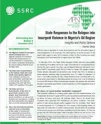 African Peacebuilding Network   Social Science Research Council     Recent Publications