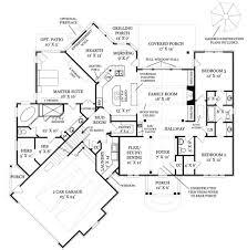 craftsman style house plan 3 beds 2 5 baths 2404 sq ft plan 119