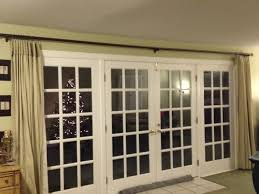 curtain rods for french doors 114 awesome exterior with burlap