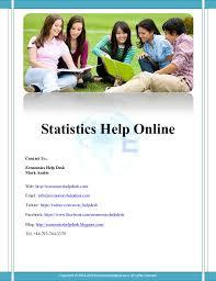online statistics help