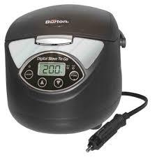 black friday electric range 12 volt portable stove camping stove car stove electric stoves