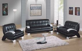 Leather Chairs Living Room by Awesome Black Leather Living Room Set Plan U2013 4 Piece Leather