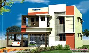 download home design with ground floor parking house scheme