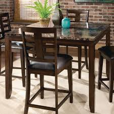 Patio Furniture Counter Height Table Sets - standard furniture bella 5 piece counter height dining room set