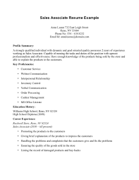 Technical Sales Resume Examples Resume Examples For Sales Associates Resume Cv Cover Letter