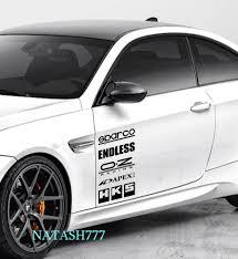 mazda car logo racing sponsors infiniti sport car sticker emblem logo decal black