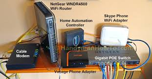Design A Home Network Connected By An Ethernet Hub How To Install An Ethernet Jack For A Home Network