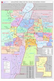 New Mexico County Map Boundaries U2014 Albuquerque Public Schools