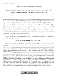 Medical Power Of Attorney Forms by Download Wisconsin Medical Power Of Attorney Form Wikidownload