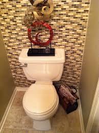 Bathroom Backsplash Ideas by Full Wall Back Splash Half Bath Future Home Pinterest Half