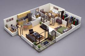 3d Floor Plans by Photo Realistic 3d Floor Plan In 3ds Max Vray Http Www