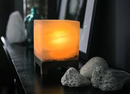 Himalayan Salt Light by Himalayan Amber Cube Salt Light Optomize Your Health