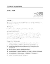 Google Resume Examples by Skills Based Resume Example Google Search Business