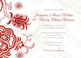 Invitation Cards Sample Format Free Wedding Invitations Templates Theruntime Com