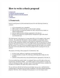 How to write a thesis proposal  Thesis proposal format  thesis proposal writing strategicmarketingandcopywriting com