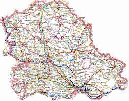 ауто карта Војводине