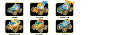 monster truck racing super series amazon com laser pegs super monster truck 6 in 1 building set