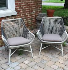 West Elm Outdoor by West Elm Huron Small Lawn Chairs Ebth