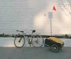 Burley Bike Trailer, Burley Nomad bicycle Trailer