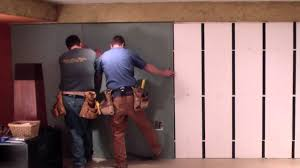 Insulating Basement Concrete Walls by Insofast Drywall Install Youtube
