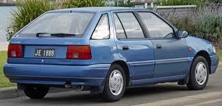 1994 hyundai pony excel sedan x 2 u2013 pictures information and
