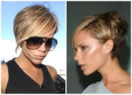 victoria beckham short hairstyles front and back is also available