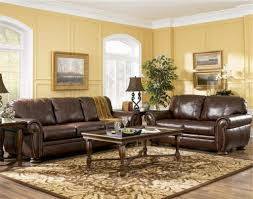 Leather Chairs Living Room by Brown Leather Sofa Living Room Ideas Centerfieldbar Com