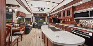 Top Of The Line Kitchen Cabinets 2018 Luxury Fifth Wheel Jayco Inc