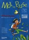 Livre - Mot De Passe; Francais ; Cm2 ; Livre De L