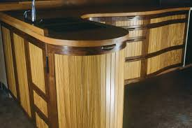 taos kitchen custom solid wood kitchen cabinets seth rolland curved kitchen cabinets in oak and walnut by seth rolland custom furniture design