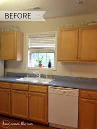 How To Install Kitchen Cabinets by Update Your Cabinets With Contact Paper