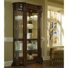 Oak Curio Cabinet Furniture Nice Curio Cabinets Cheap For Elegant Home Furniture