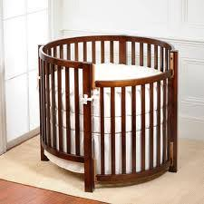 of circular cribs and oval shaped cribs that are used in the home