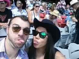 My first last Italian boyfriend and I at the Calgary Stampede in Alberta  Canada  This Sweet Life   Questa Dolce Vita
