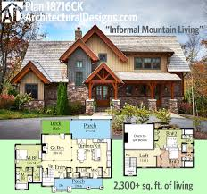 House Plan With Basement by Amazing Mountain House Plans With Basement Room Design Plan Modern
