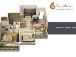 3d Floor Plans by Home Design 50 Pictures Of 3d Apartment Design 3d Floor