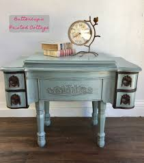 Repurposed Coffee Table by Sewing Cabinet Repurposed Into Coffee Table General Finishes