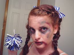 dead makeup halloween dead cheerleader halloween tutorial youtube