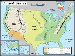The Map Of The United States Of America by Geography Blog Physical Map Of The United States Of America