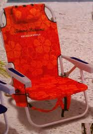 Tommy Bahamas Chairs Amazon Com Tommy Bahama Backpack Cooler Beach Chair Red Orange