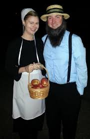 awesome couples halloween costume amish couple my halloween