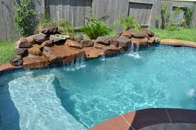 Swimming Pools Backyard by Simple And Small Pool With Sand Bar By Presidential Pools Cool