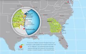 Map Of Florida Cities And Towns by Visit Coastal Georgia Georgia Coast Travel Association Gcta