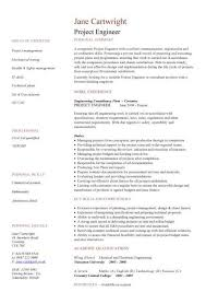 Engineering CV template Dayjob