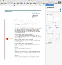 apple pages resume templates free iwork how to adjust the left margin in pages business resume how do you reduce the left margin in pages business resume template