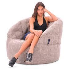 Big Joe Lumin Chair Multiple Colors Interior Bean Bags Chair Butterfly Sofa Eco Weave Bean Bag