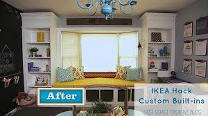 Ikea Bookshelves Built In by Ikea Hack Custom Built In Shelves Knock It Off Diy Project